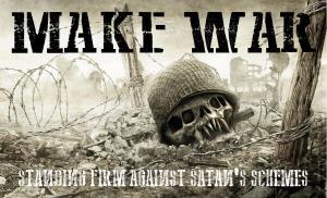 Make War Poster